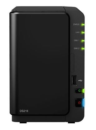 Picture of Synology DS216 2BAY 512MB 1.3GHZ Dual Core