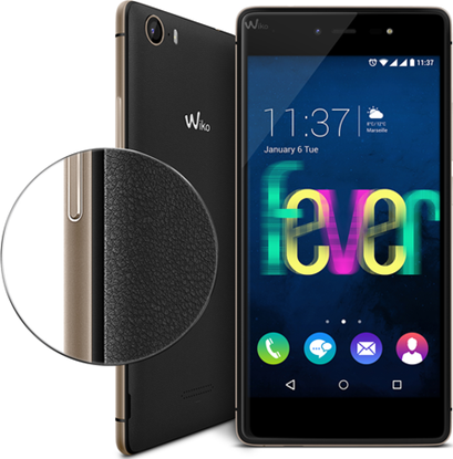 Picture of Wiko smartphone Fever 4g black/gold